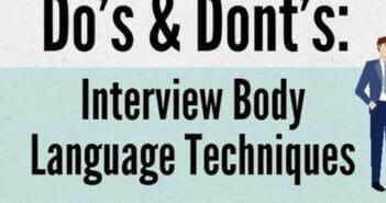 AFM vertelt je over lichaamstaal & solliciteren