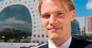 Lees over Max Maaskant, trainee Wholesale Banking