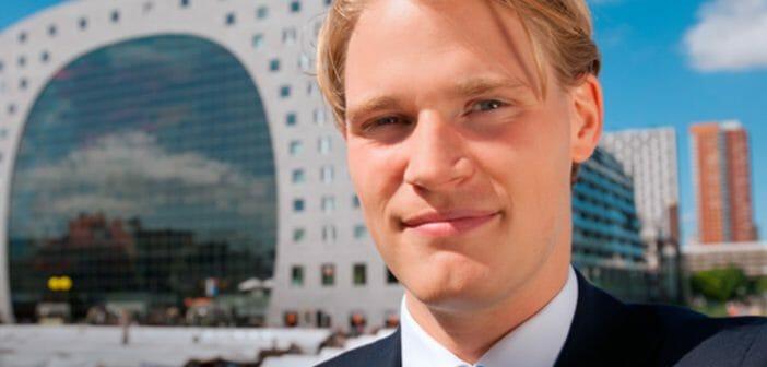 Lees over Max Maaskant, trainee Wholesale Banking