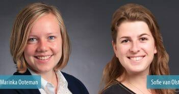 Roland Berger consultants Marinka Ooteman en Sofie van Olst