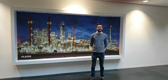 FLUOR Business Management Trainee:  Benoit Habay (started 2016)