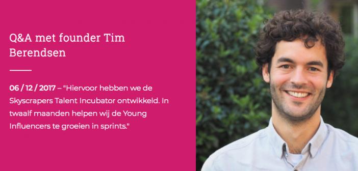 Q&A met founder Tim Berendsen