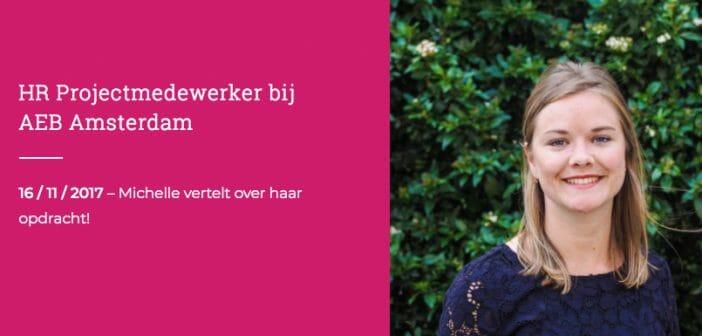 Het Skyscrapers Traineeship: HR Projectmedewerker bij AEB Amsterdam