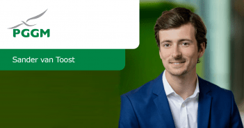 Sander van 't Oost Investment Trainee PGGM