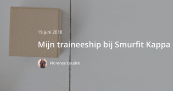 Mijn traineeship bij Smurfit Kappa – YSE