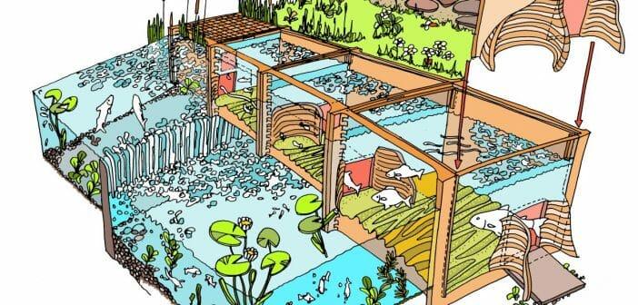 Vispassage 'FISHIONPassage', de eerste geprinte vispassage ter wereld