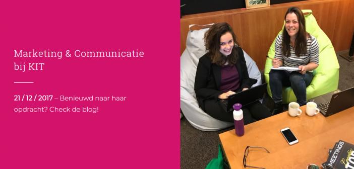 Marliek (28) werkt op de Marketing en Communicatie afdeling van het KIT Royal Tropical Institute.