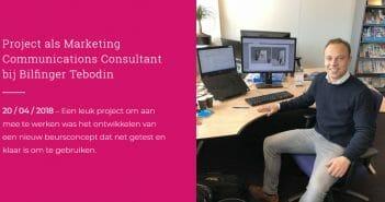 Maurits (26) werkt bij Bilfinger Tebodin als Marketing Communications Consultant – Skyscrapers