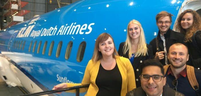 Eerste maand als KLM IT trainee @ Bob van der Helm – Young Colfield