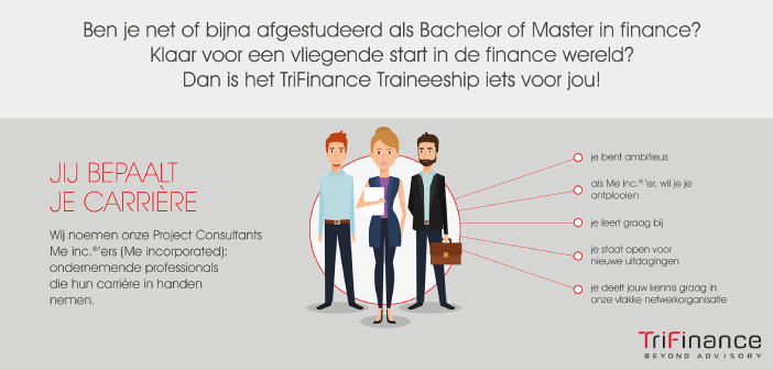 8 vragen aan Job Witte, trainee bij TriFinance