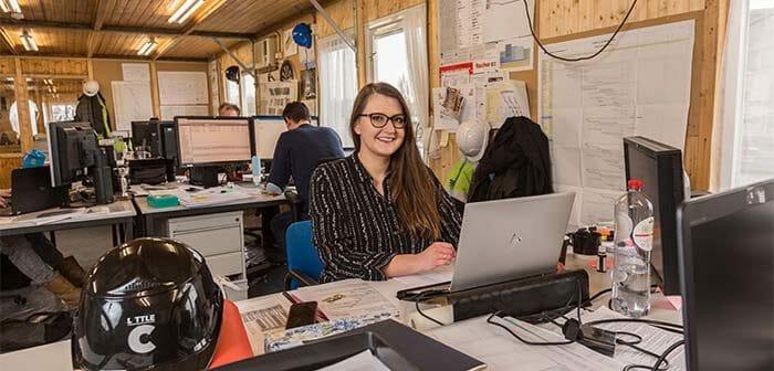 'Mijn eerste gesprek was met twee directeuren. Zo serieus worden trainees hier behandeld.' – Kasia Uchman