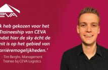 Tim vertelt… over zijn huidige rol als project engineer binnen het CEVA Traineeship