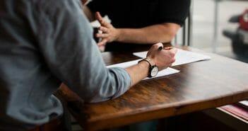 Scriptie meenemen naar een sollicitatiegesprek