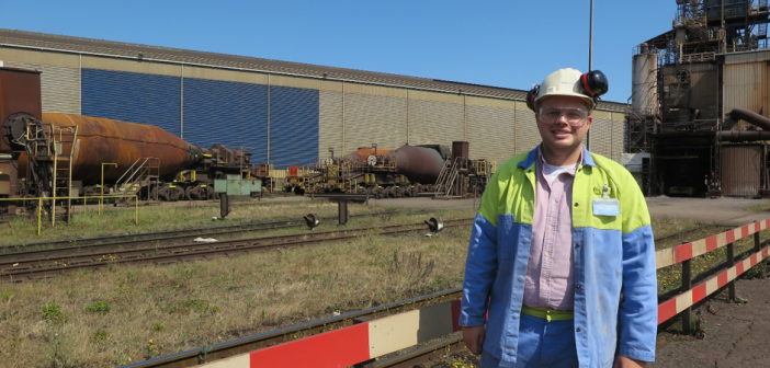 young professional tata steel
