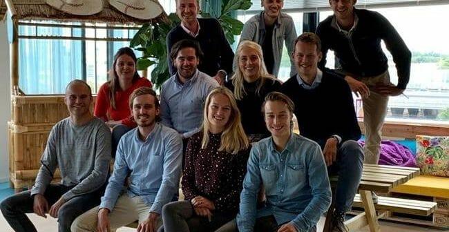 De start bij KPN van Commerce Young Talent Cees