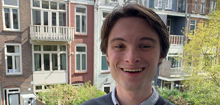 Reinout Tutein (24), Stagiair Category Management bij Etos
