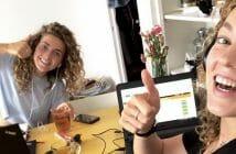 Lise-Lotte geeft tips voor werken vanuit huis