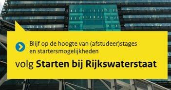 Instagram account @startenbijrijkswaterstaat