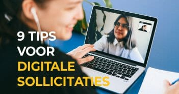 ONLINE SOLLICITATIE CHECKLIST – 9 TIPS