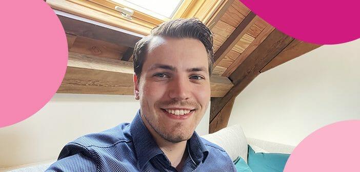 Roland als trainee bij Lime Technologies